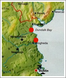 Map of Co. Louth