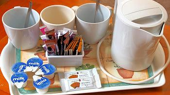 possibilité pour la préparation de thé / café