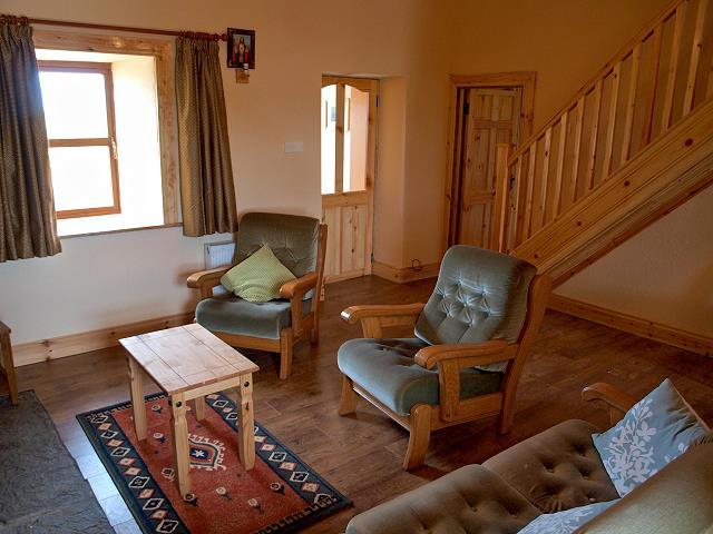 Moderne Traditionele Woonkamer : Wonen en leven in het vakantiehuis clogher cottage